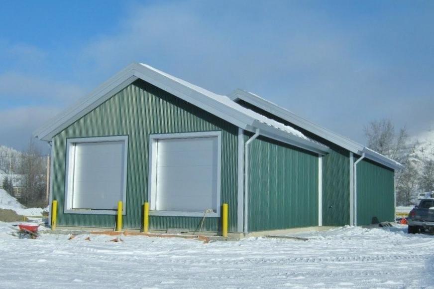 biomass metal building