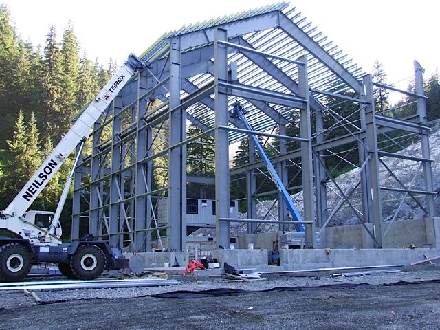 long lake hydroelectric powerhouse