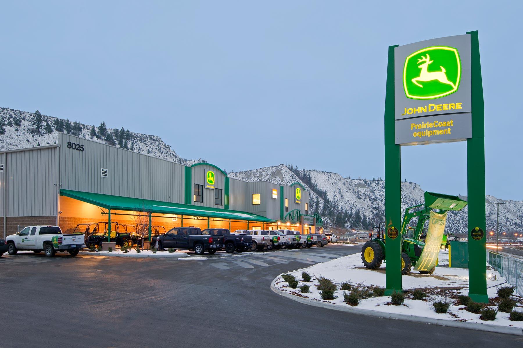 Prairie Coast Equipment Kamloops Metal Building Group